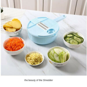 Vegetable Cutter Grater Peeler Fruit Chopper Gadget Potato Cheese Onion Slicer $15.99