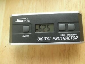 SPI Digital Protractor with Case $69.95