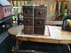 Treadle Sewing Machine PARTS 6 DRAWERS cheap off SINGER machine abt 14 x 14x 5. $35.00