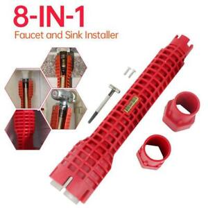 Multifunction Sink Basin Faucet Wrench Sink Install Tap Spanner Installer x1 Pc $6.14