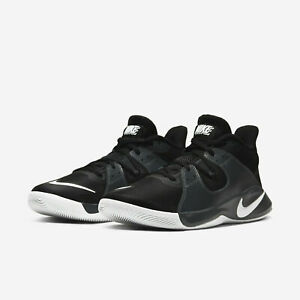 Nike FLY.BY Mid Mens Basketball Shoes CD0189 001 Black White Smoke Grey NEW $59.95