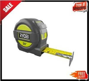 RYOBI 25 ft. Measuring Tape Overmold and Wireform Belt Clip ABS $8.18