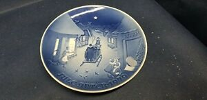 1979 Collectors Plate Bing Grondahl White Christmas Jule After Denmark $7.99