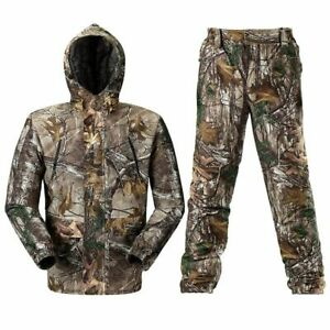Breathable Bionic Camouflage Clothing Hunting Ghillie Suit Jacket Pants Hunter