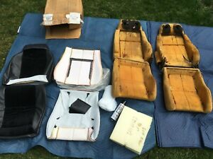 1984 1988 Pontiac Fiero Seats with New Mr. Mike Custom Seat Cover MGB TR6