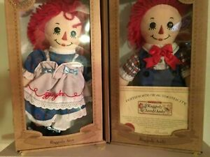 """Duck House Heirloom Edition """"Raggedy Ann amp; Andyquot; SIGNED BY JONI GRUELLE $45.00"""