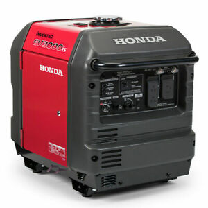 New in Box Honda EU3000is Portable Gas Powered Generator Inverter IN STOCK