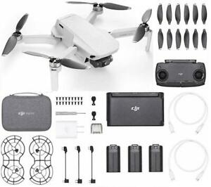 DJI Mavic Mini Fly More combo Drone with 2.7K Camera 30 Minute flight time