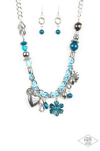 Paparazzi 12 Different Gorgeous Designs To Choose From Blue Necklace Sets