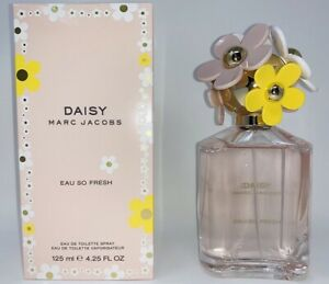 Marc Jacobs Daisy Eau So Fresh 4.2 oz Eau De Toilette Spray Perfume Women New $34.99