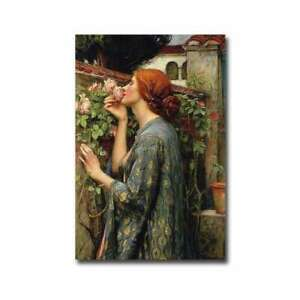 The Soul of the Rose by John Waterhouse Gallery Wrapped Large $153.99