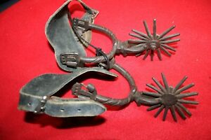 Vintage Chihuahua Spurs with 3 Rowels