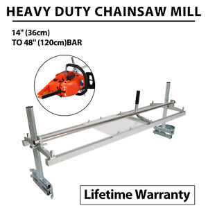 Portable Chainsaw Mill 18 48 Chain Saw Mill Aluminum Steel Planking Lumber