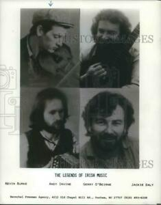 1986 Press Photo Kevin Burke Andy Irvine Gerry O#x27;Beirne Jackie Daly Musicians $17.99