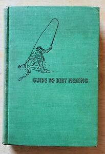 GUIDE TO BEST FISHING ROBERT PAGE LINCOLN VINTAGE FISHING BOOK