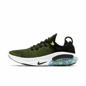 Nike Joyride Run Flyknit Mens Running Shoes AQ2730 010 Black Yellow White NEW $89.95