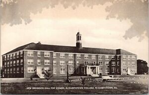 Elizabethtown Pennsylvania College Women Residence Dorm Meyer Hall 1930s Sepia $7.00