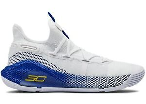 Under Armour Curry 6 Dub Nation CHOOSE SIZE 3020612 103 UA Home Warriors Blue $119.00