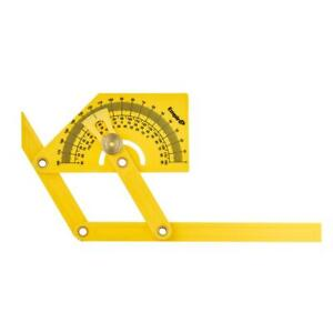Polycast Protractor Angle Finder Brass Hardware Multipurpose Measuring hand Tool $8.30