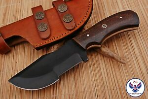 TRACKER 1095 CARBON STEEL TRACKER HUNTING KNIFE WITH MICARTA HANDLE ZS 84 $24.99