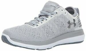 Kids Under Armour Girls Threadborne Fortis Low Top Lace Up Grey Size 7.0 9E1g $25.01