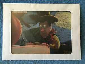 TOY STORY WOODY Lithograph Disney Collection Movie Club 5quot; x 7quot; NEW $7.75
