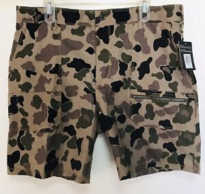 Men#x27;s HURLEY CARHARTT Camouflage utility Work Hunting Fishing Shorts Size 36 NWT