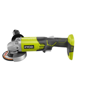 RYOBI 18 Volt ONE Cordless 4 1 2 in. Angle Grinder Tool Only $54.10