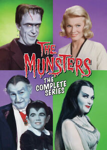 The Munsters: The Complete Series New DVD Ships Fast $30.85