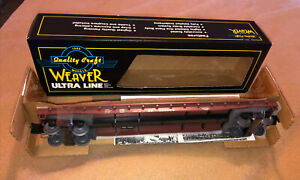 Weaver 4078 HI RAIL 50#x27; Southern Pacific #565264 Flat Car Still Attached To Card