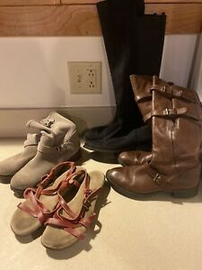 Womens Boots and Sandals Lot Size 8 and 8.5 $45.00