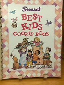 Vintage Best Kids Cookie Book For Boys And Girls Ages 6 14 SUNSET Magazine