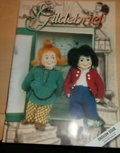Gildebrief 3 2001 Dollmaking Antique Reproductions Dress Patterns Hats Vol 18 $14.95