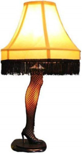 A Christmas Story Leg Lamp 20 Inch Real Working Light Xmas Movie New $107.81