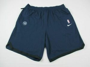 Minnesota Timberwolves Nike Shorts Mens Navy Dri Fit NEW Multiple Sizes $34.20