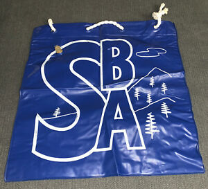 Inflatable Blue Pillow Bag For The Beach Camping Or Hiking