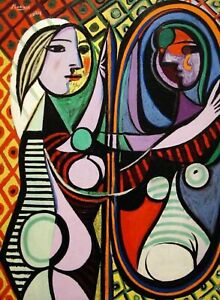 Print Girl Before A Mirror 1932 by Pablo Picasso $7.59