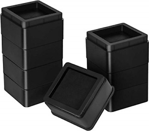 Utopia Bedding Furniture and Bed Risers Pack of 8 2 Inch Stackable Square for $25.77