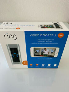 **NEW** Ring Pro Video Doorbell 1080p HD Video with Motion Activated Alerts