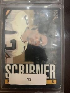 Bucky Scribner 1985 Topps #76 Packers With Individual Case