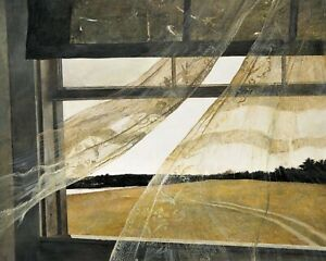 Print Wind from the Sea 1947 by Andrew Wyeth $11.99