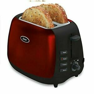 Oster Inspire 2 Slice Toaster Metallic Red $35.00