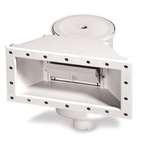 Hydrotools WBITS036 Wide Mouth Thru Wall Above Ground Pool Skimmer ABS $31.09