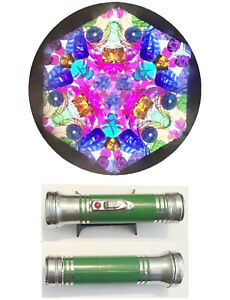 Stress Free Kaleidoscope made from a Recycled Vintage quot;Pandaquot; Flashlight #47