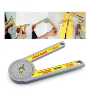 360° Miter Saw Protractor Digital Ruler Angle Meter Level Measuring Tool $12.99