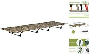 Camping cots Outdoor Bed Ultra Lightweight Bed Portable cot Free Camouflage