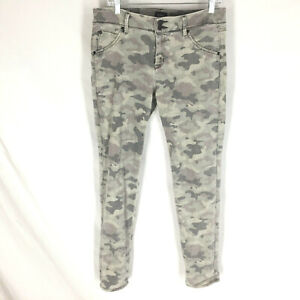 Hudson Collin Flap Skinny Jeans Camouflage Size 31