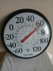 Large Outdoor Circular Thermometer $14.00