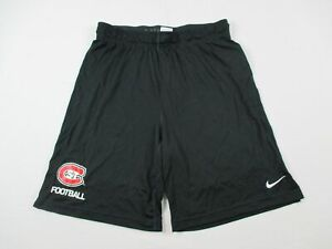 St. Cloud State Huskies Nike Shorts Mens Black Dri Fit NEW Multiple Sizes $23.74