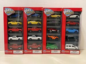Play Right Die Cast Toy Cars Collectible 4 Boxes With 20 Cars M $31.95